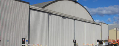 Refurbishment / Bottom Rolling Hangar Door